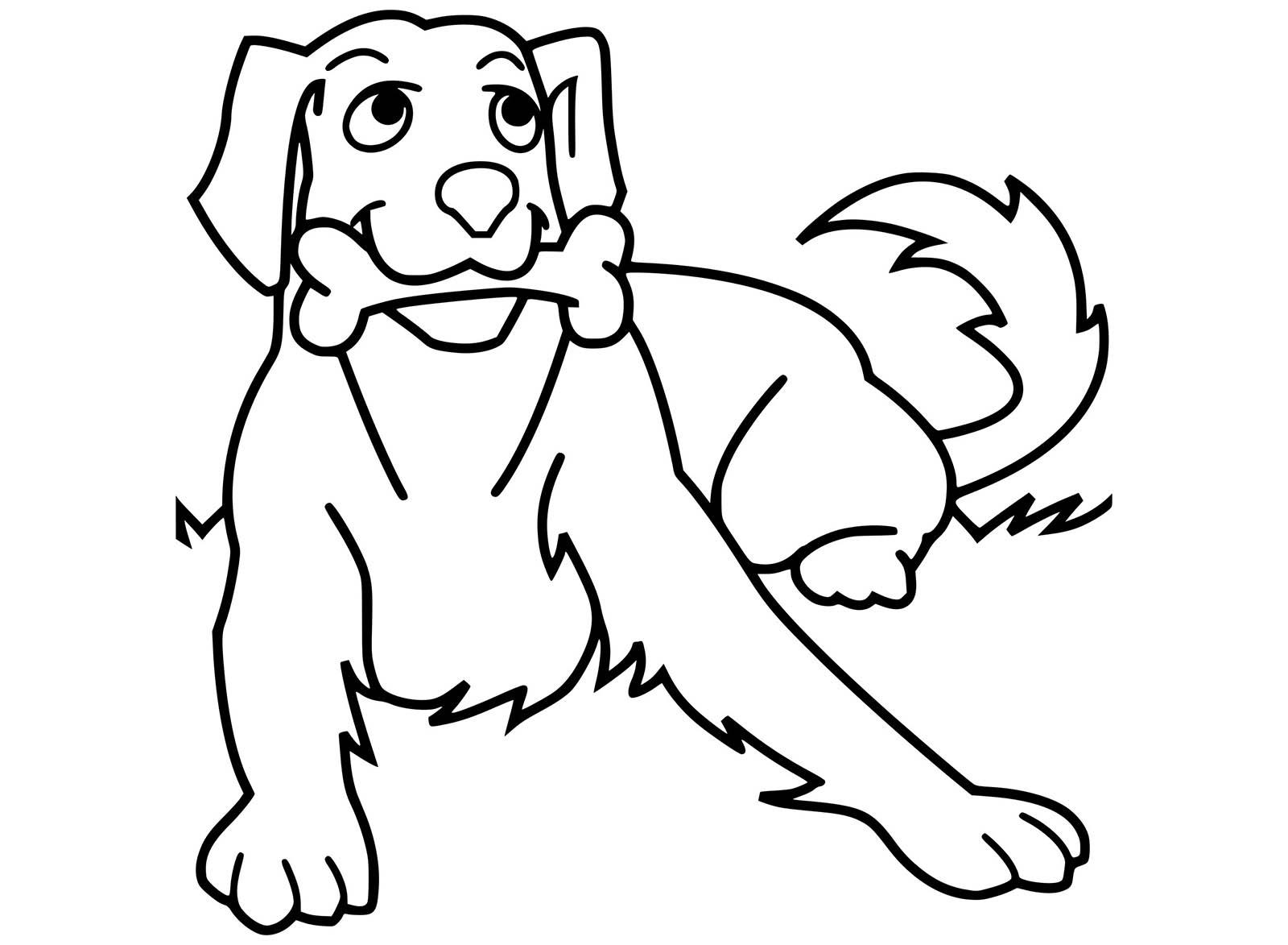 Cani da colorare e stampare: i più belli e dolci