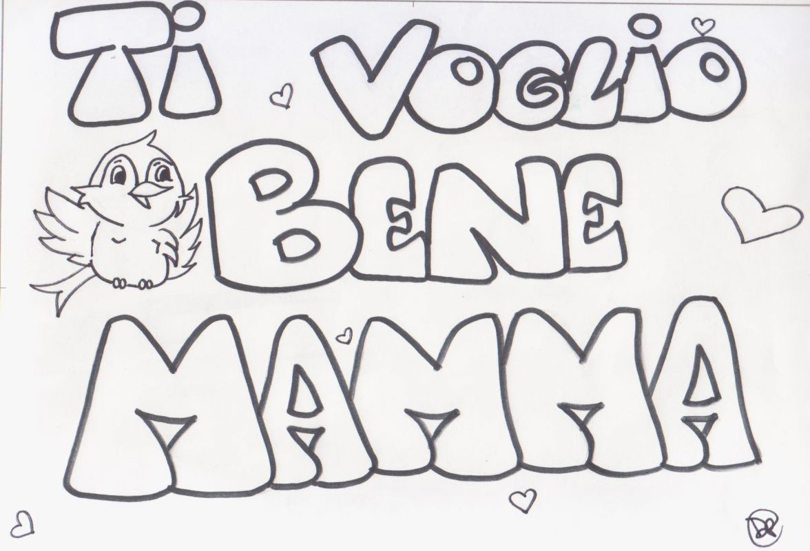 disegni per la mamma
