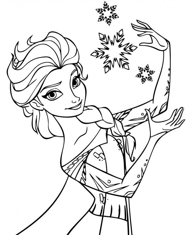 Disegni da colorare e stampare Frozen: ecco i più belli