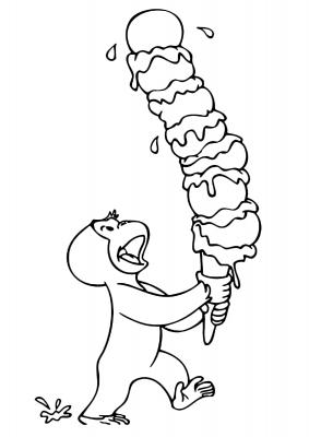 George cartone animato