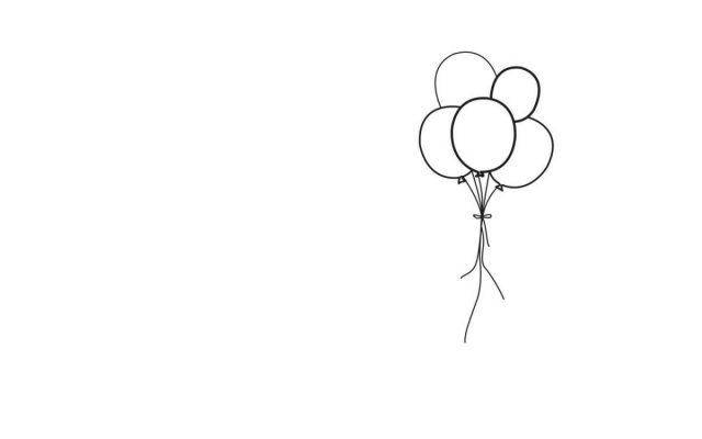 disegno palloncino