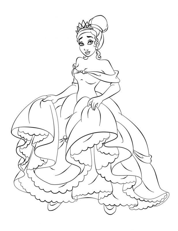 principesse Disney da colorare