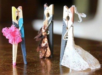 lavoretti con mollette di legno per bambini