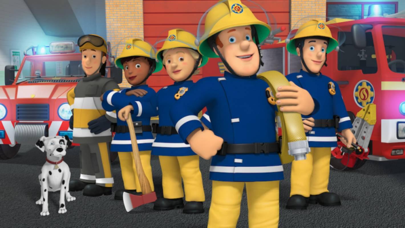 Sam il pompiere sigla