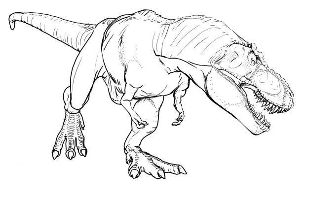 dinosauri da colorare on line