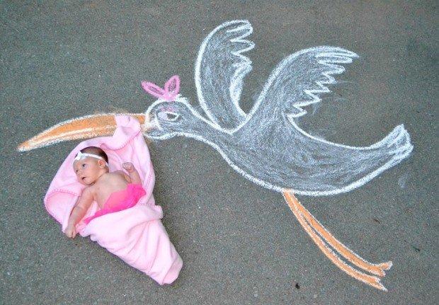 Morso della cicogna nei neonati: comparsa e trattamento