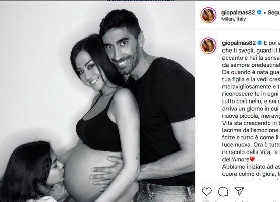 Giorgia Palmas incinta