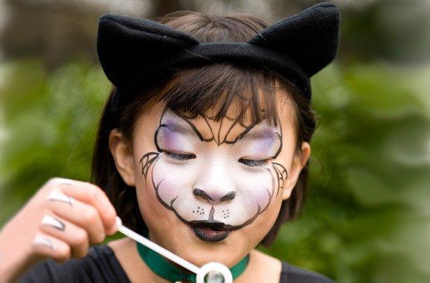 Trucco da gatto per bambini