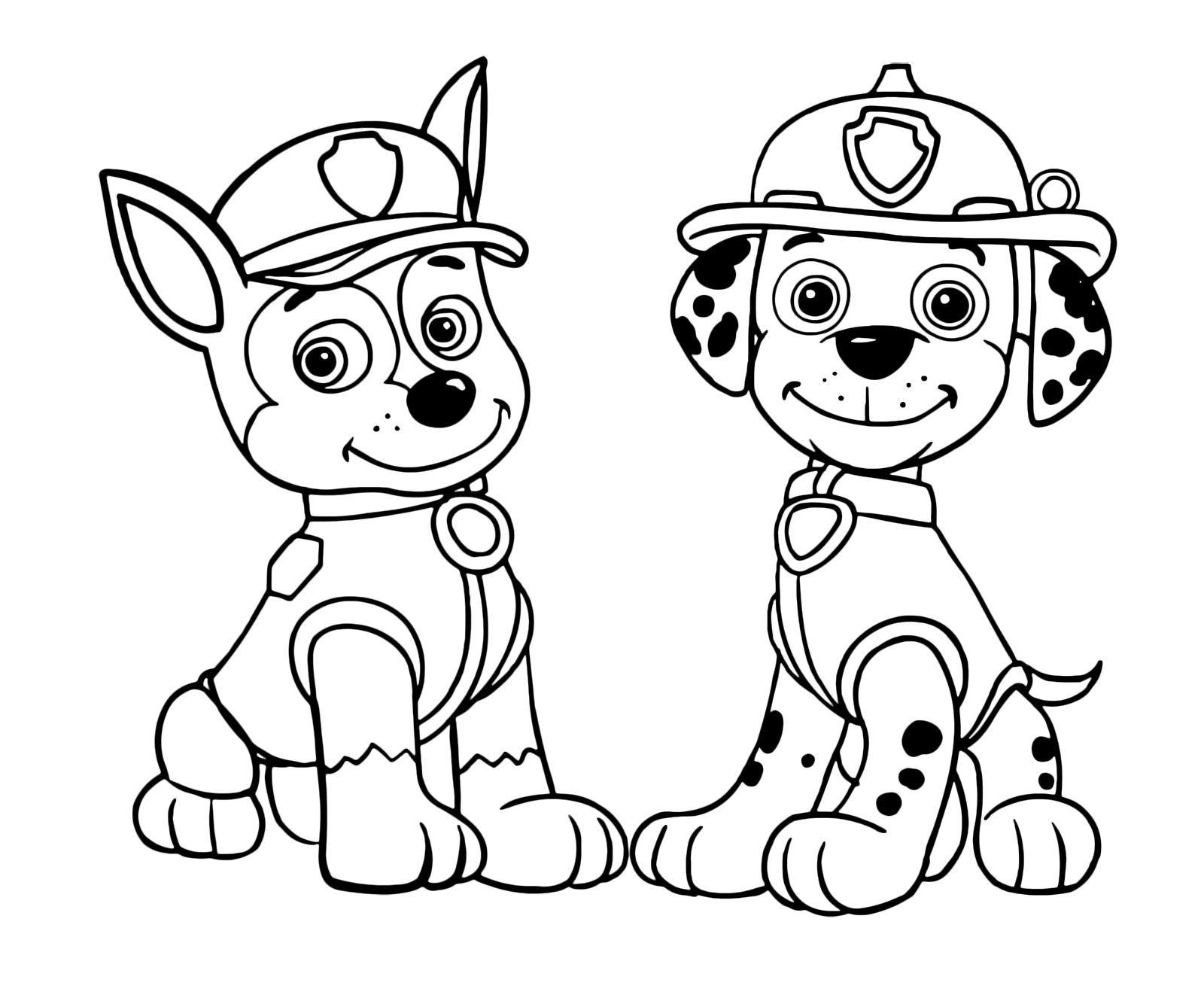 Paw Patrol: i più bei disegni da stampare e colorare