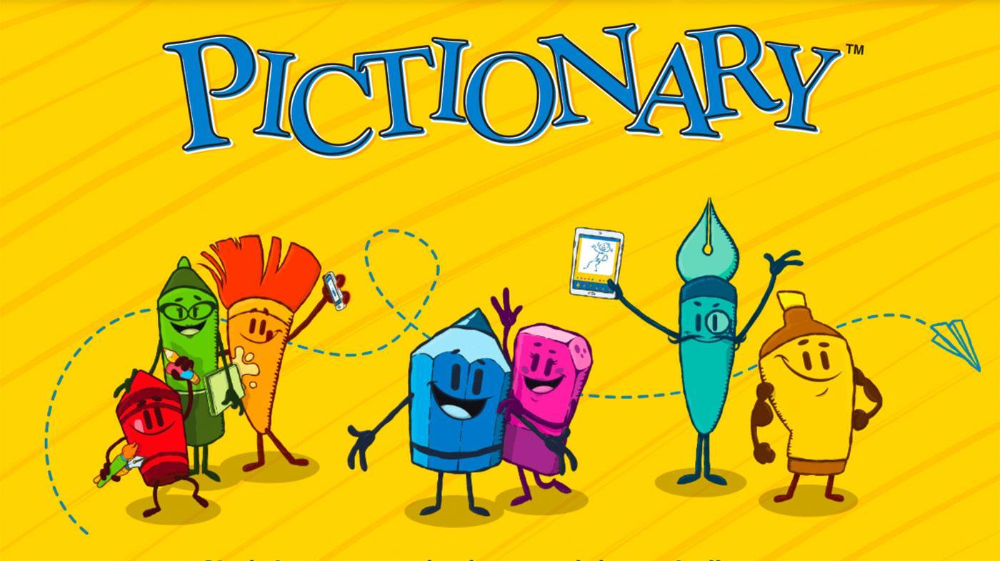Pictionary regole del gioco con le carte da spiegare ai bambini