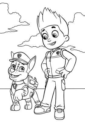 cartoni Paw Patrol