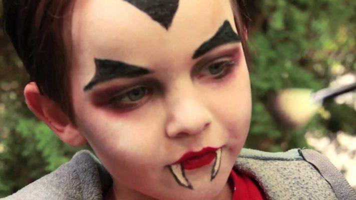 Trucco vampiro bambino