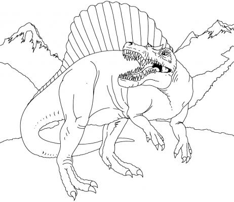 dinosauro da disegnare