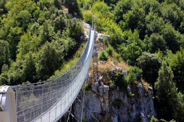 Ponte Tibetano Valli del Pasubio: itinerario per famiglia