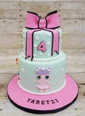 torta primo compleanno lol