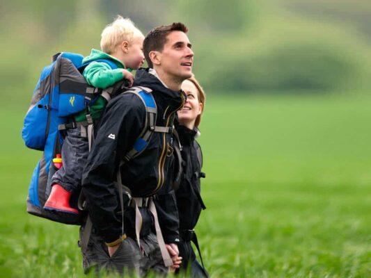 zaino trekking bambino