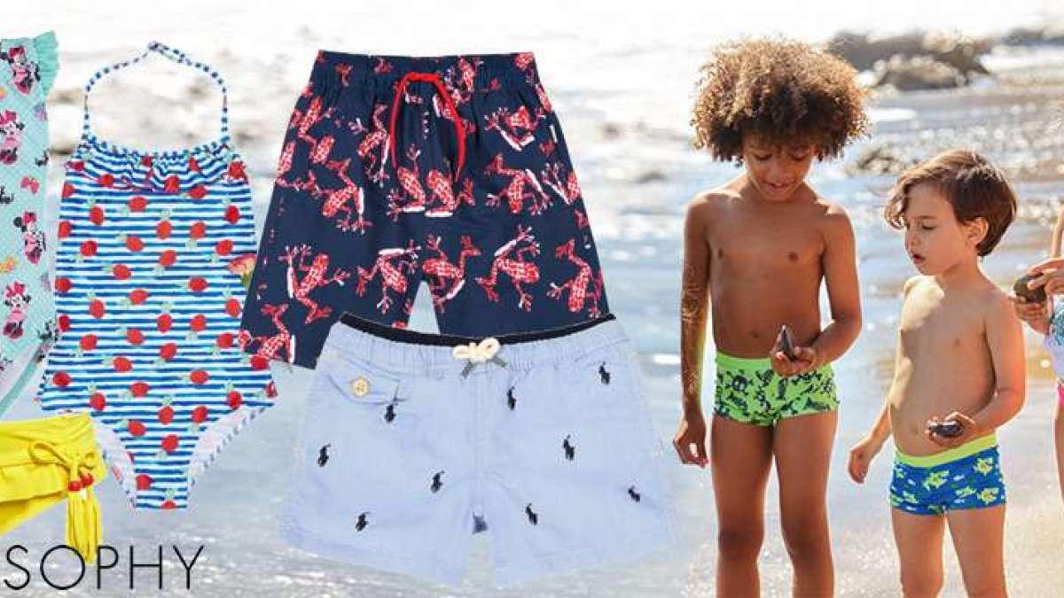 Sundek bambino: i nuovi costumi da mare della collezione 2020