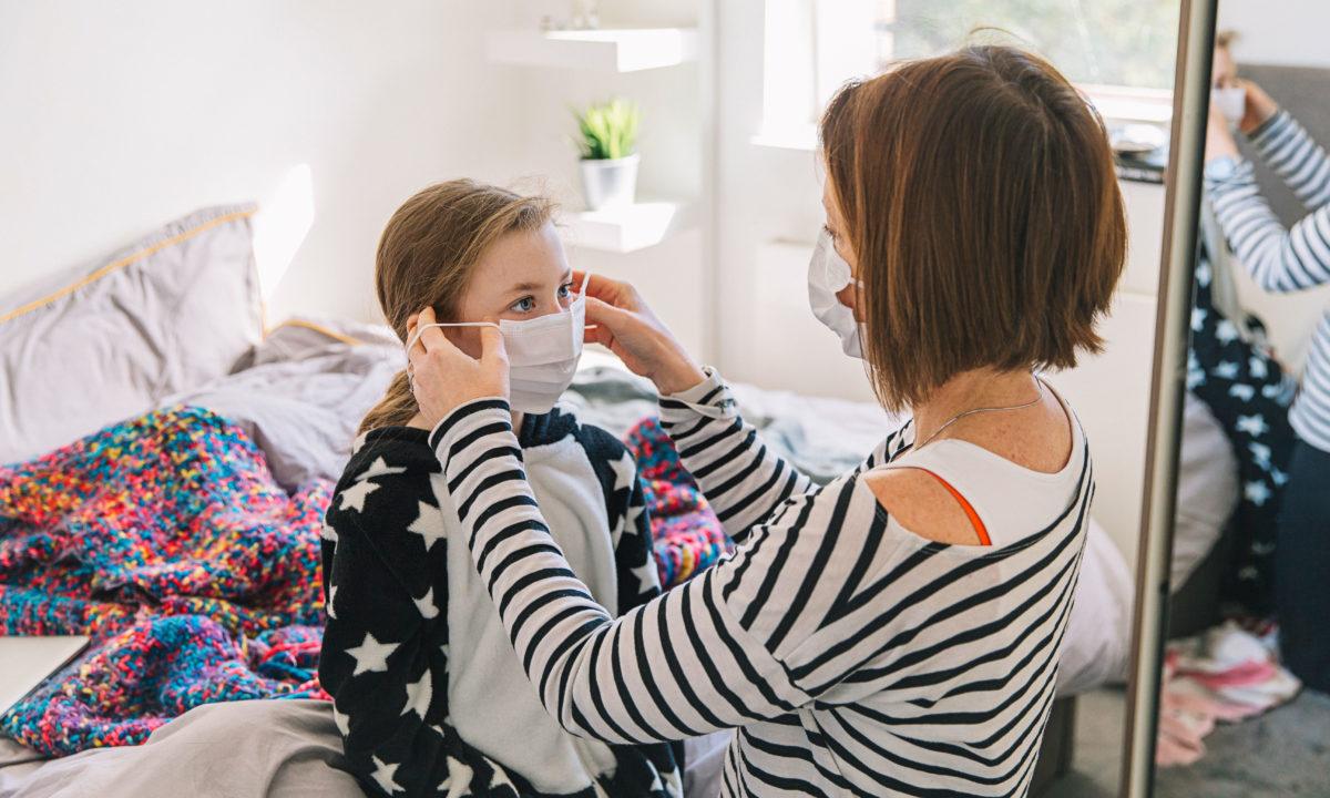 Team Mascherine: mascherine uguali mamma e figlia