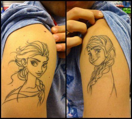 tatuaggio sorelle
