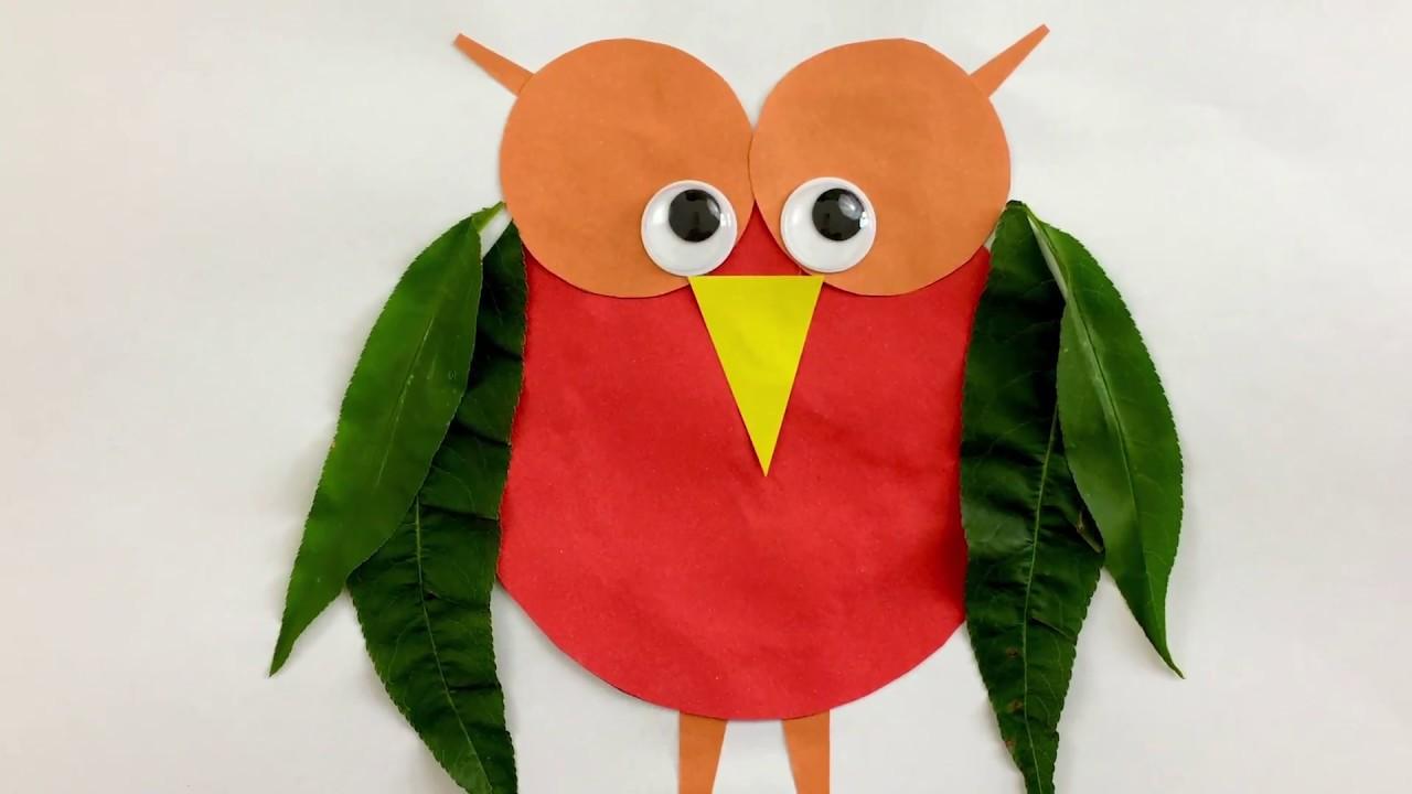 Lavoretti con le foglie per bambini: ecco alcune semplici idee