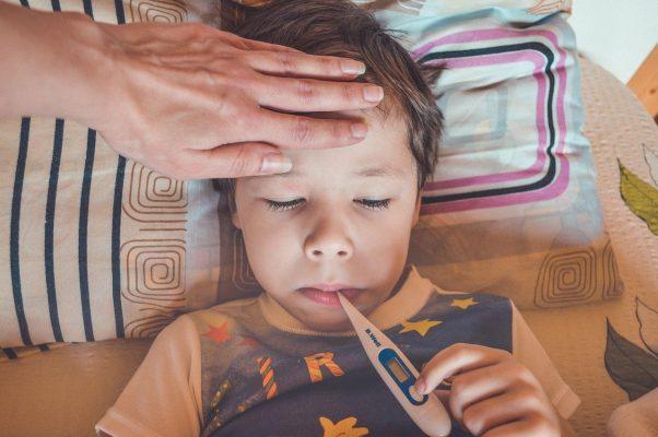 Globuli bianchi alti nei bambini