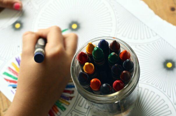 colori per bambini piccoli