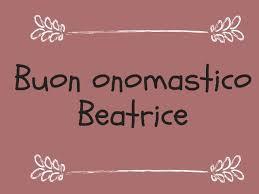significato del nome beatrice