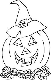 zucche halloween disegni