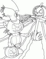 halloween da colorare