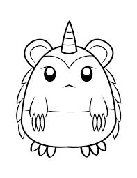 disegni da colorare mostri