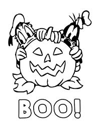 immagine halloween colorare
