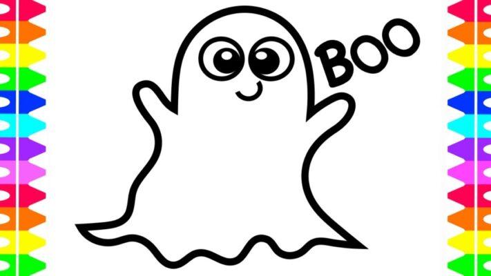 fantasmi halloween fantasma disegno
