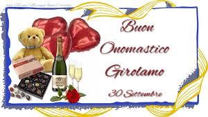 S Girolamo Auguri Onomastico