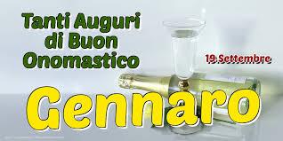 San Gennaro onomastico
