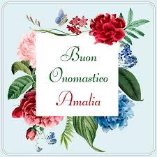 Santa Amalia Onomastico