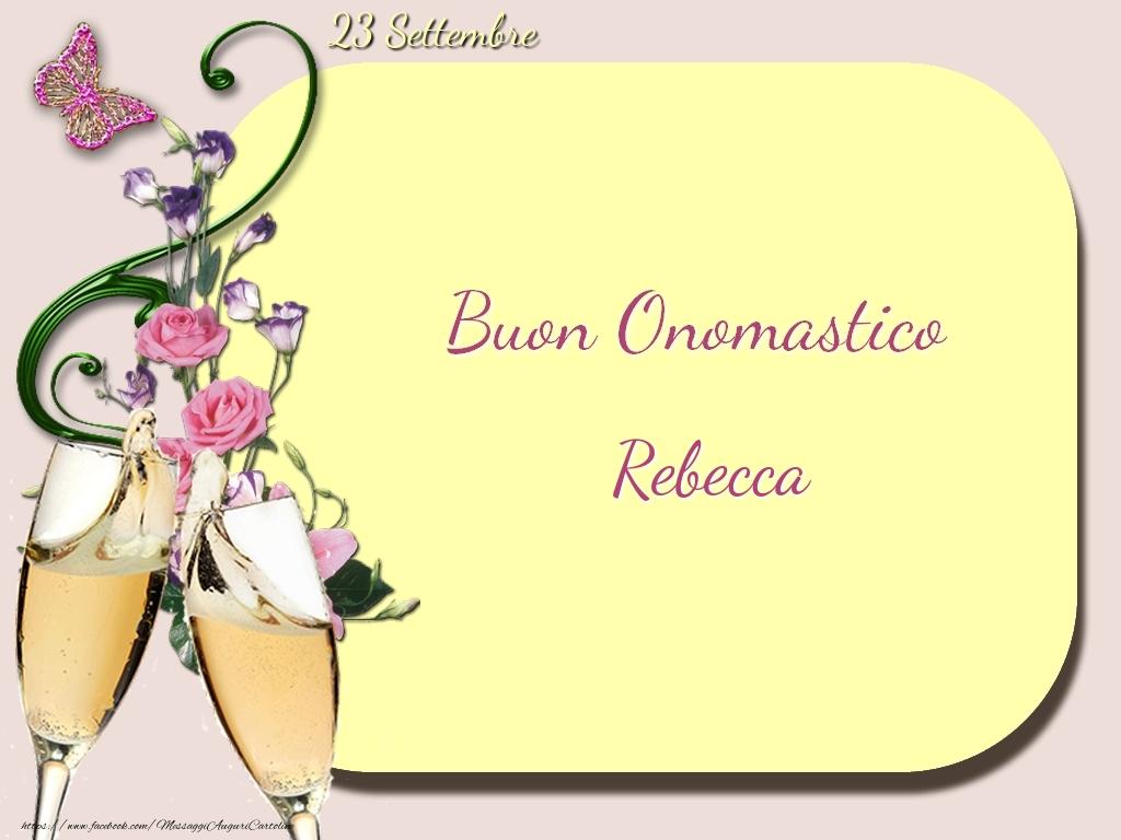 Santa Rebecca onomastico: quando si festeggia? Significato del nome, frasi e immagini da inviare