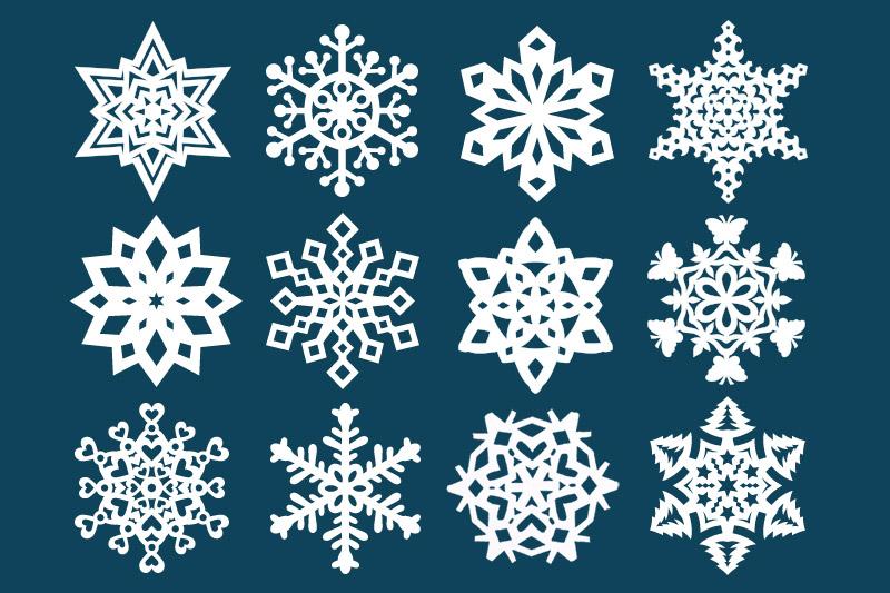 Fiocchetti di neve: ecco come realizzarli