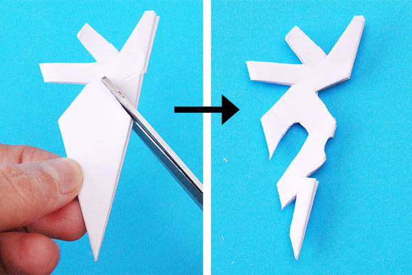 fiocco di neve di carta    come si fanno i fiocchi