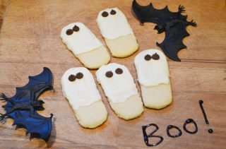 fantasmini halloween biscotti