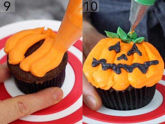 muffin halloween zucca di halloween