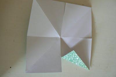 origami stella di natale