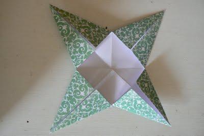 decorazioni natalizie con la carta