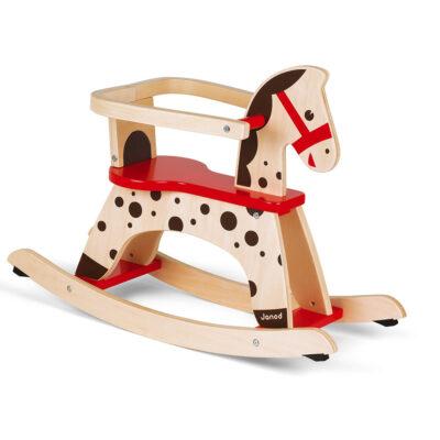 Janod Cavallo a Dondolo Caramel in legno