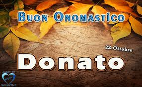 onomastico 22 ottobre San Donato