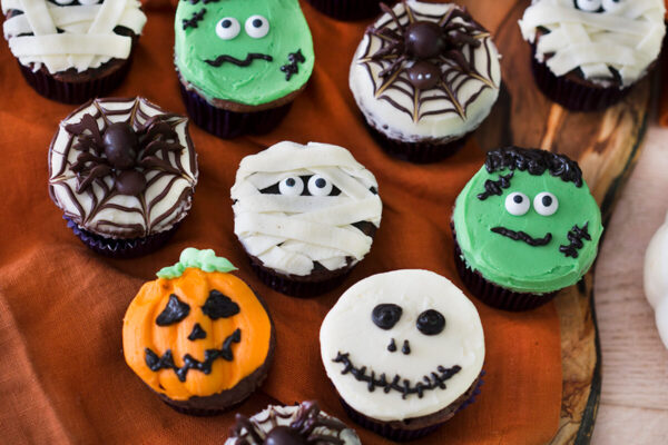 cupcake halloween ricette  halloween muffins  cupcakes di halloween