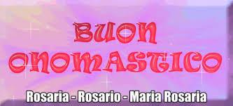 s rosario onomastico