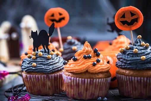 muffin halloween  muffin halloween ricette  ricetta cupcake halloween  muffins halloween  halloween muffin