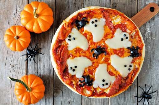 Pizza Halloween: ricetta e come realizzarla