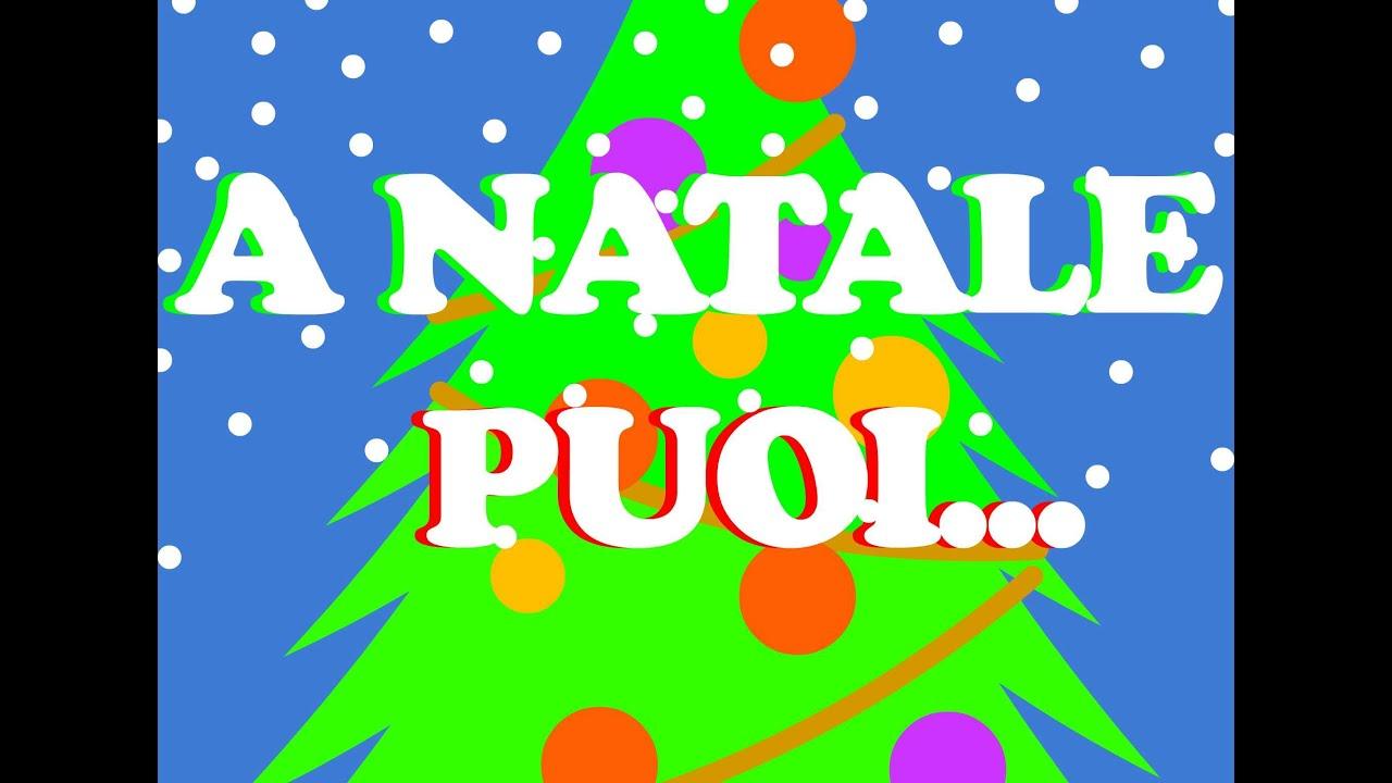 Testo A Natale Puoi: la canzone completa