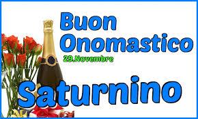 onomastico 29 novembre san saturnino